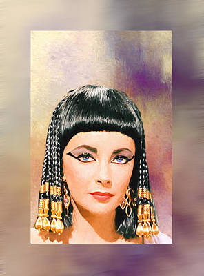 Photograph - Liz Taylor-queen Cleopatra by Ericamaxine Price