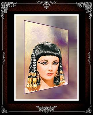 Photograph - Liz Taylor-queen Cleopatra_1 by Ericamaxine Price