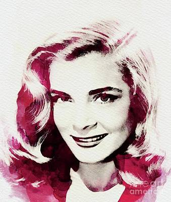 Musician Royalty-Free and Rights-Managed Images - Lizabeth Scott, Vintage Actress by John Springfield