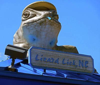 Photograph - Lizard Lick Atm 2 by Ron Kandt