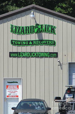 Photograph - Lizard Lick Towing by Randall Weidner