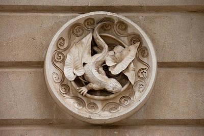 Cascada Photograph - Lizard Sculpture by Artur Bogacki