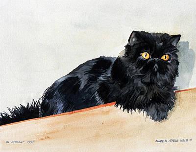 Lizzy Art Print by Eileen Hale