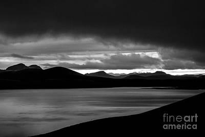 Photograph - Ljotipollur Iceland by Gunnar Orn Arnason