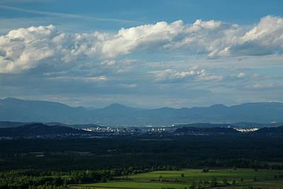 Photograph - Ljubljana Across The Moors by Ian Middleton
