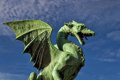 Photograph - Ljubljana Dragon - Slovenia by Stuart Litoff