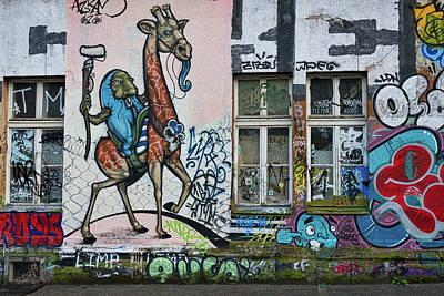 Photograph - Ljubljana Graffiti - Slovenia by Stuart Litoff