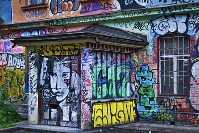 Photograph - Ljubljana Grafitti #2 - Slovenia by Stuart Litoff