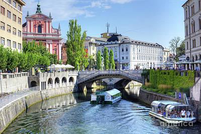 Photograph - Ljubljana, Slovenia by Juli Scalzi
