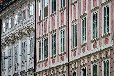 Photograph - Ljubljana Windows #3 - Slovenia by Stuart Litoff