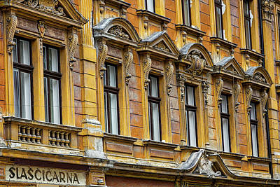 Photograph - Ljubljana Windows - Slovenia by Stuart Litoff