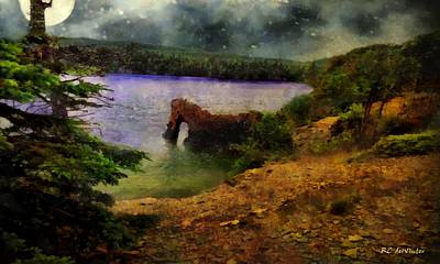 Painting - Lake Of Stars by RC deWinter