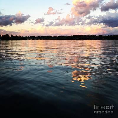 Photograph - Lkn Water And Sky  I by J Kinion