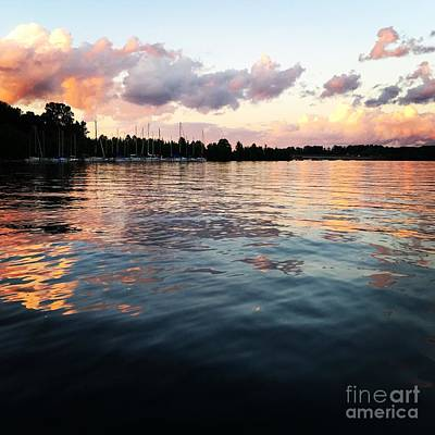 Photograph - Lkn Water And Sky II by J Kinion