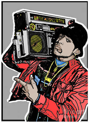 Ll Cool J Radio 1985 Art Print