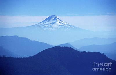 Llaima Volcano Chile Art Print by James Brunker