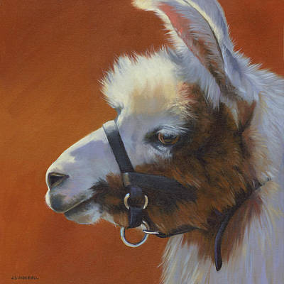 Painting - Llama Love by Alecia Underhill