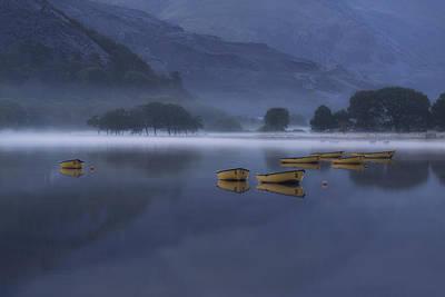 Llyn Padarn Photograph - Llanberis - Wales by Joana Kruse