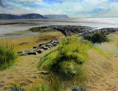 Painting - Llandudno by Harry Robertson