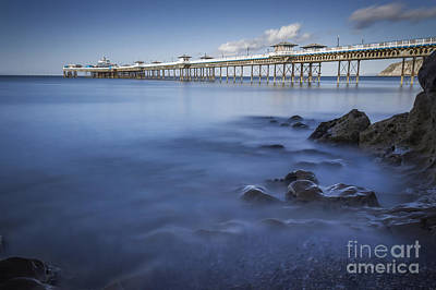 Photograph - Llandudno Pier by Ian Mitchell