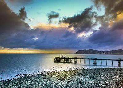 Photograph - Llandudno Pier by Marty Garland