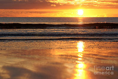 Llangennith Sundown Art Print
