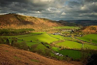Photograph - Llangollen In The Evening Light by Stephen Taylor
