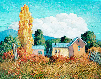San Juan Painting - Llano San Juan by Donna Clair