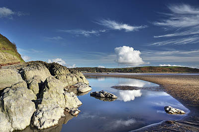 Photograph - Llansteffan 5 by Phil Fitzsimmons