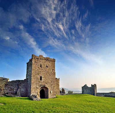 Llansteffan Castle 1 Art Print