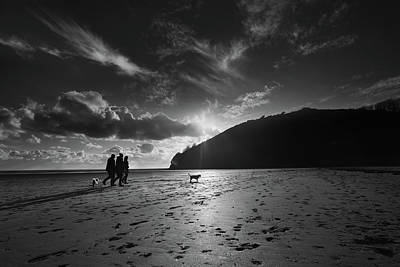Photograph - Llansteffan4 by Phil Fitzsimmons
