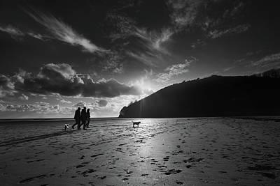 Photograph - Llansteffan4 by Phil Fitzsimmons