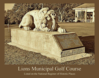 Golf Statues Photograph - Lions Municipal Golf Course by Jim Smith