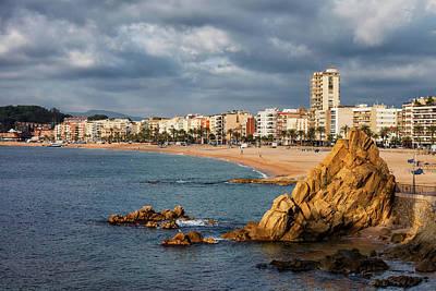 Lloret De Mar On Costa Brava In Spain Art Print