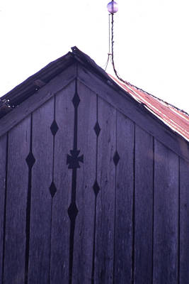 Photograph - Lloyd Shanks Barn by Curtis J Neeley Jr