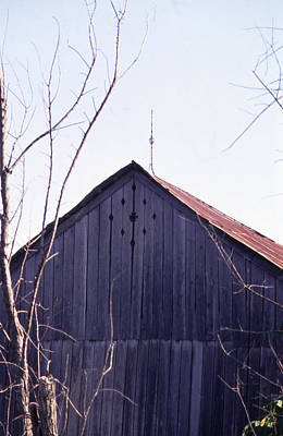 Photograph - Lloyd Shanks Barn1 by Curtis J Neeley Jr
