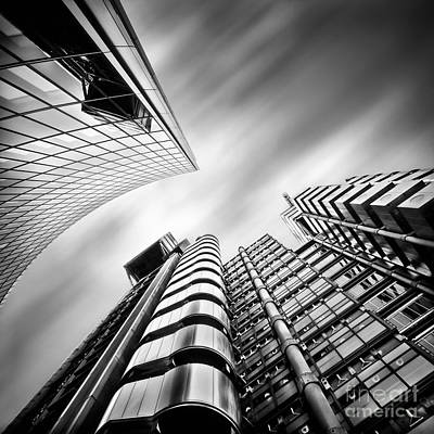 Photograph - Lloyds London by Frank Waechter