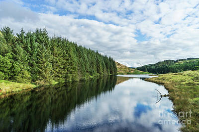 Llyn Brianne Reservoir 2 Wales Art Print