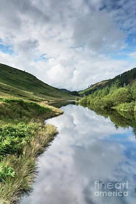 Llyn Brianne Reservoir 3 Wales Art Print
