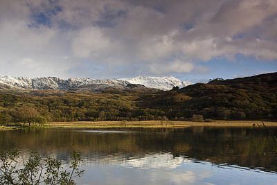 Llyn Dinas - Snowdonia - Wales Art Print by Gary Rowe