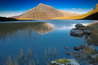 Photograph - Llyn Idwal, Snowdonia by Peter OReilly