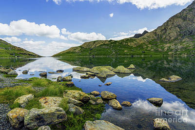 Photograph - Llyn Lydaw by Ian Mitchell