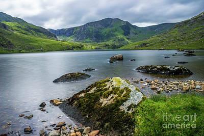 Photograph - Llyn Ogwen Glyder Fawr by Ian Mitchell