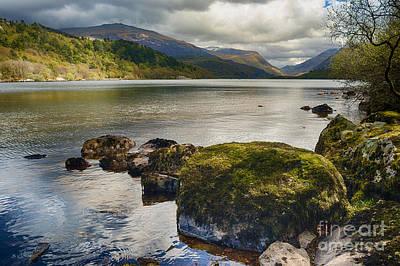 Llyn Padarn Photograph - Llyn Padarn by Amanda Elwell