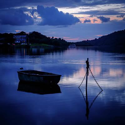 Photograph - Llyn Padarn, Llanberis by Peter OReilly