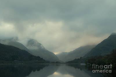 Llyn Padarn Photograph - Llyn Padarn North Wales by Amanda Elwell