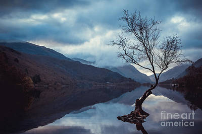 Llyn Padarn, North Wales Uk Art Print
