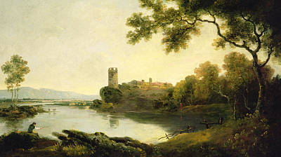 North Wales Painting - Llyn Peris And Dolbadarn Castle, North Wales by Richard Wilson