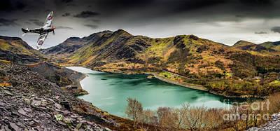 Photograph - Llyn Peris Snowdonia by Adrian Evans