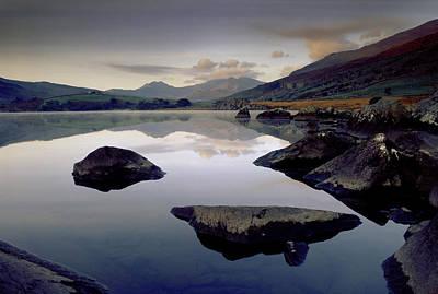 Llynnau Mymbyr Photograph - Llynnau Mymbyr by Peter OReilly